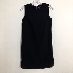 Vince Camuto sleeveless black sheath dress size 2